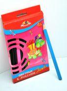 """Цветные карандаши 12 цв. """"Апплика"""" """"Черепаха"""" (арт. C2068-01) (00616)"""