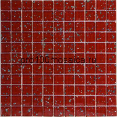 Rio Red. Мозаика серия GLASS, размер, мм: 295*295 (ORRO Mosaic)