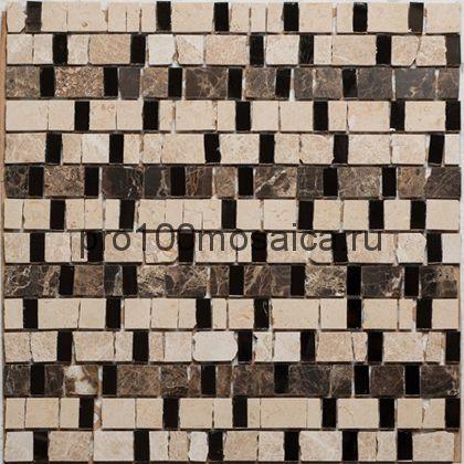 GLORY I. Мозаика серия GLASSTONE, размер, мм: 300*300 (ORRO Mosaic)