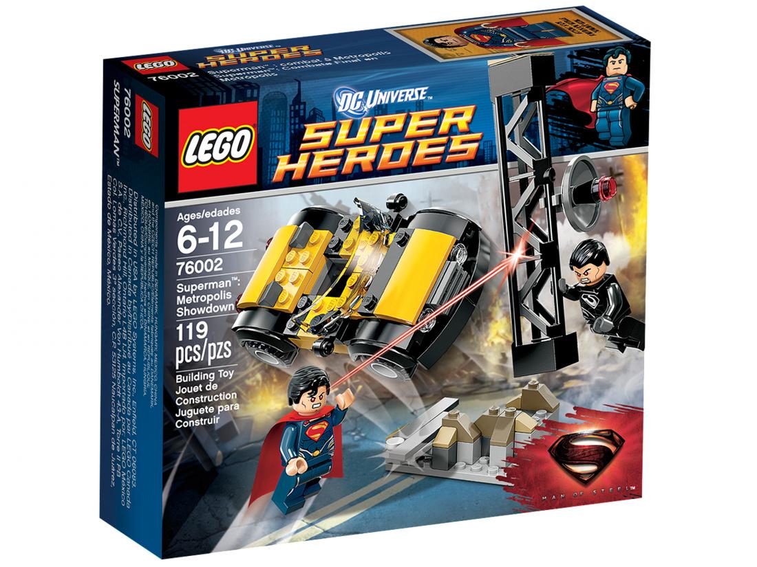 76002 Супермен: Схватка За Метрополис Конструктор ЛЕГО Супергерои