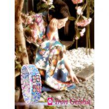 Японские светодиодные часы Geisha