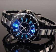 Наручные мужские часы LED подсветкой