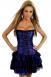 Корсет-платье фиолетовое