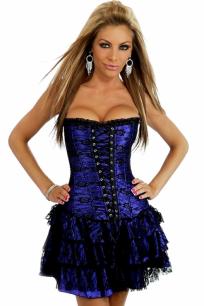 Корсет-платье с юбкой