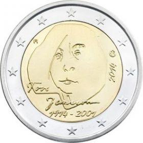 100 лет со дня рождения Туве Янсон 2 евро Финляндия 2014