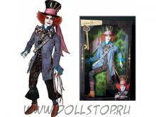 """Коллекционная кукла Безумный Шляпник """"Алиса в Стране Чудес"""" - Alice in Wonderland Mad Hatter Doll"""