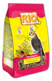 RIO. Корм для средних попугаев. Рацион в период линьки 0,5кг