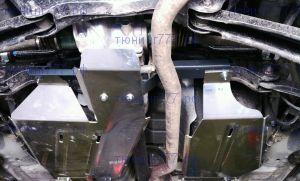 Защита бензобака и дифференциала, ТСС, алюминий 4мм для 4WD