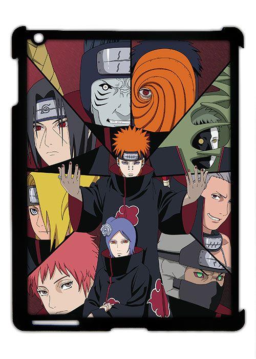 Чехол iPad II/III: Naruto