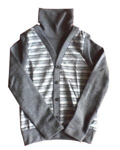 серый джемпер в интернет-магазине детской одежды