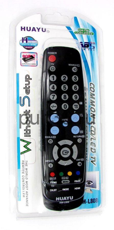 Пульт ДУ SAMSUNG RM-L808 LCD универсальный