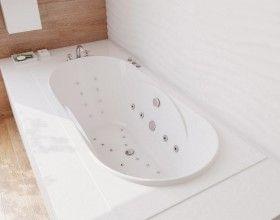 Астра мраморная ванна