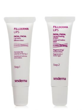 SESDERMA Fillderma lips Бальзам для губ + крем-активатор