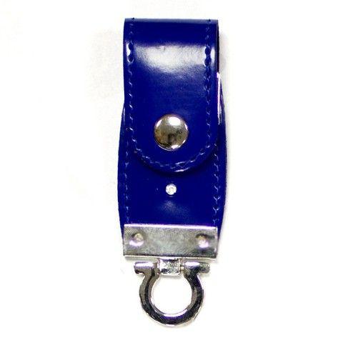 4GB USB-флэш накопитель Apexto U503C гладкая синяя кожа OEM