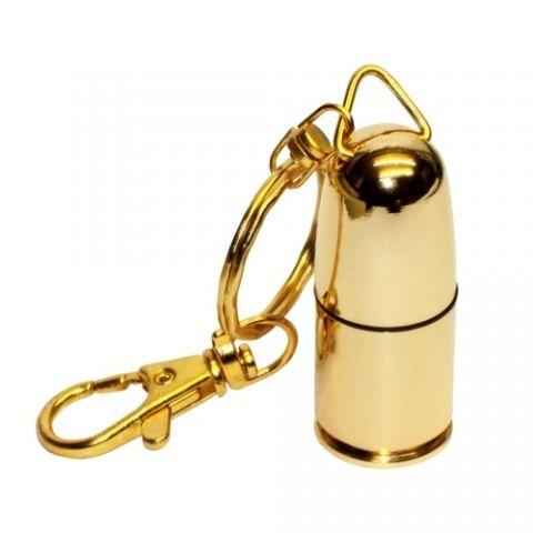 4GB USB-флэш накопитель Apexto UM-508 металлическая Золотая пуля