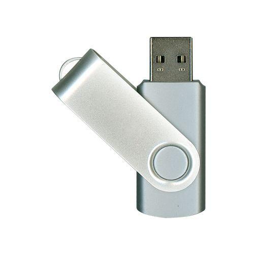 4GB USB-флэш накопитель Supertalent SM-RS раскладной серебряный, OEM