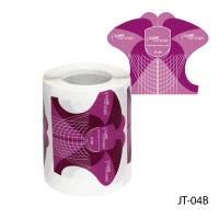 Универсальные одноразовые формы (бумажные, на клейкой основе) JT-04В, 150 штук