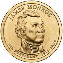 1 доллар США 2008 год Серия Президентские доллары Джеймс Монро