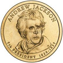 1 доллар США 2008 год Серия Президентские доллары Эндрю Джексон