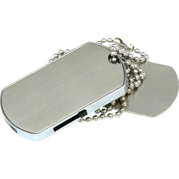 4GB USB-флэш накопитель Apexto U308 Жетон, метал