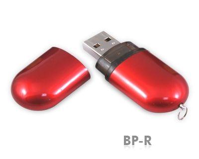 64GB USB-флэш-накопитель Supertalent BP-R красный глянец