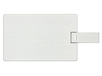 32GB USB-флэш накопитель Apexto U504EM алюминиевая кредитная карта, серебряная