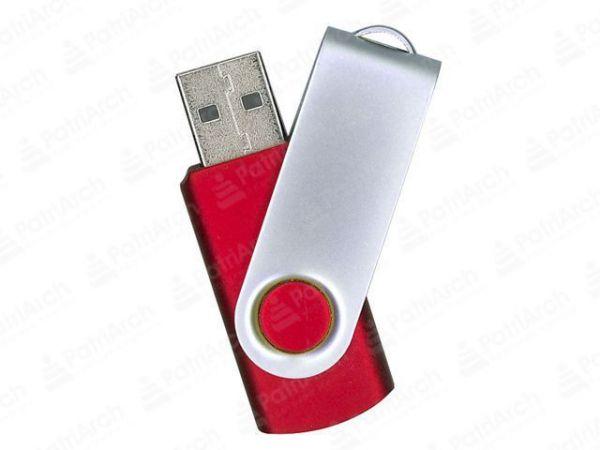 16GB USB-флэш накопитель Supertalent SM-RR раскладной красный без блистера