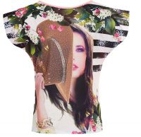 Блузка для девочки подростка со стразами Турция