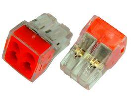 Электромонтажные экспресс-клеммы 773-324 (4*2.5мм²) REXANT