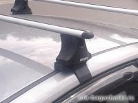 Багажник на крышу Hyundai Elantra, Атлант, аэродинамические дуги