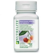 Nutrilite жевательные таблетки с витамином С 100 таб.