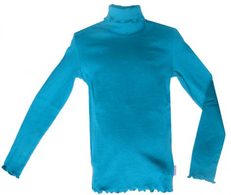 Джемпер для девочки бирюзового цвета