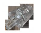 Телефонный проходник 4Р-4С поворотный (антискручиватель 1.5cm) REXANT
