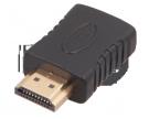 ПЕРЕХОДНИК шт.HDMI - гн.HDMI GOLD REXANT