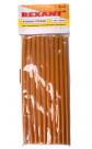 Клеевой стержень d=11.2 мм., L=270 мм., оранжевый 1 кг REXANT