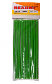 Клеевой стержень d=11.3 мм., L=270 мм., зеленый REXANT