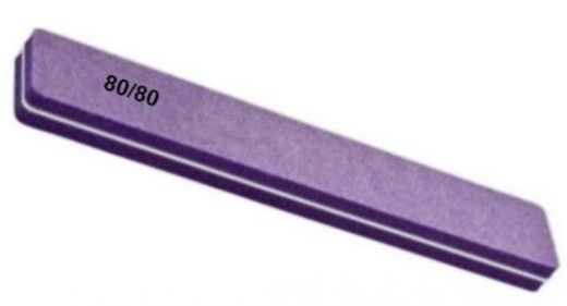Шлифовка двусторонняя прямоугольная фиолетовая - 80/80