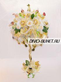 """Дерево из конфет №556 Топиарий """"Успех"""""""