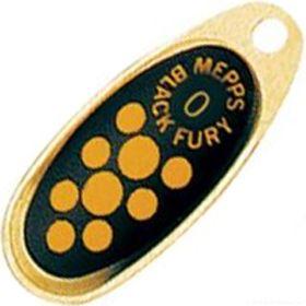 Купить Блесна Mepps Comet Black Fury цвет OR/JN / №00 1.5гр