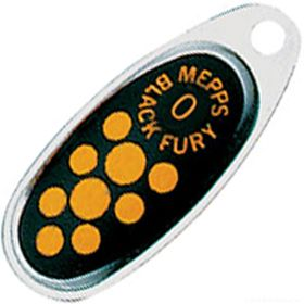 Купить Блесна Mepps Comet Black Fury цвет AG/JN / №0 2.5гр