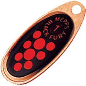 Купить Блесна Mepps Comet Black Fury цвет CU/OR / №2 4.5гр