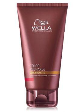 Wella Cool Brunette Бальзам - уход для холодных коричневых оттенков