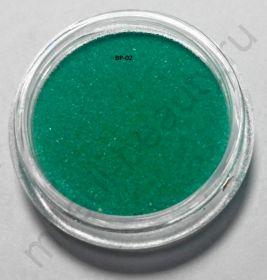 Бархатный песок, BP-02, изумрудный