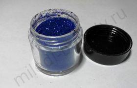 Сухой блеск DJB-23 синий