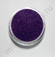 Кашемир для дизайна ногтей, Цвет фиолетовый, маленькая баночка