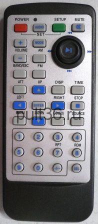 Пульт ДУ Master RC-830J (avto TV, DVD)