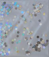 Кружочки серебро голограммные №3 (3мм)