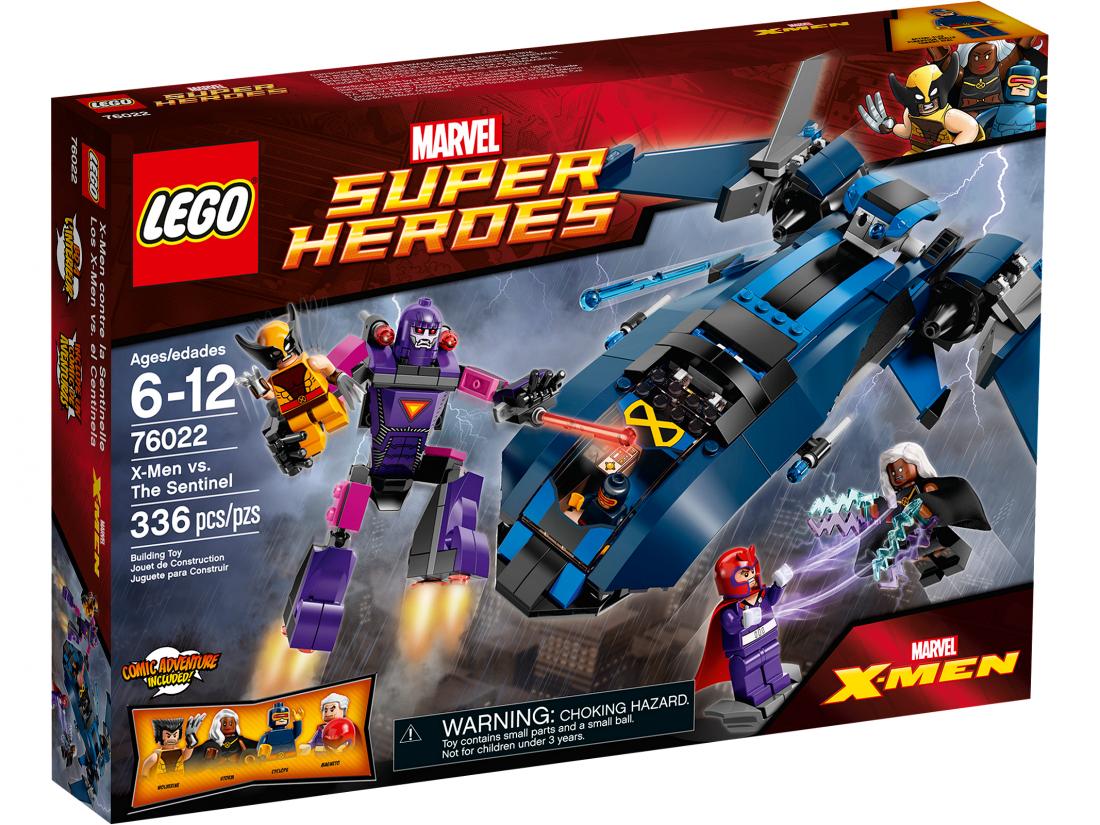 76022 Лего Росомаха: Люди Икс против Сэнтинеля Конструктор ЛЕГО Супергерои