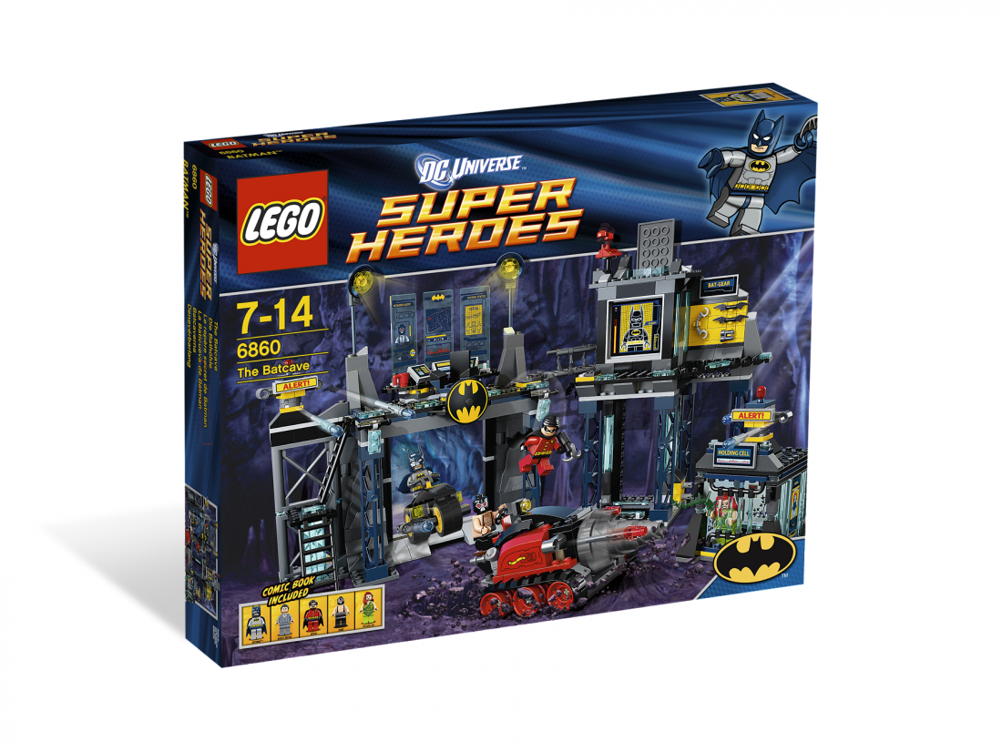 6860 Бэтмен: Пещера Бэтмена Конструктор ЛЕГО Супергерои