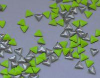 Украшение для ногтей - треугольник (50 штук в пакетике) Цвет: лимонный